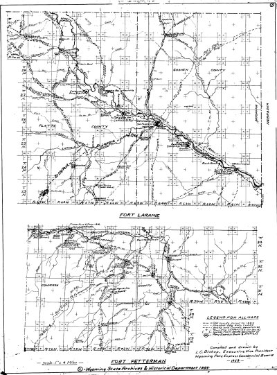 Wyoming Historical Maps | Wyoming State Historical Society